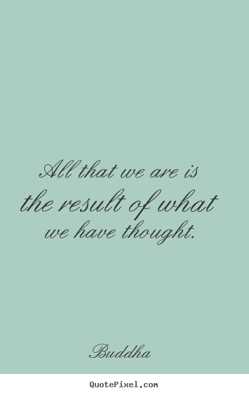 Sayings about motivational - All that we are is the result of what we have thought.